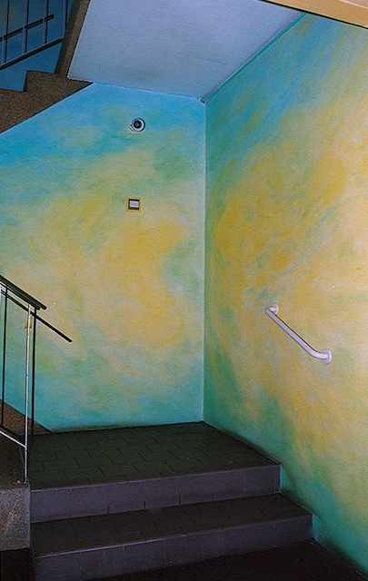 Earth, Stairwell, Inala (detail)