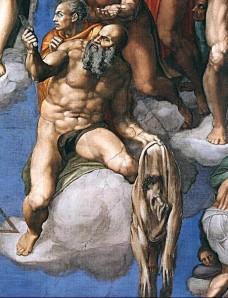 Figure ii: Last Judgement, detail, 1537-1541