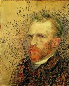 Van Gogh Self-portrait 1887