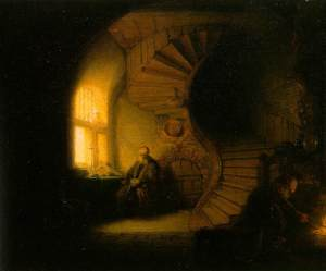 Rembrandt's The Philosopher in Meditation